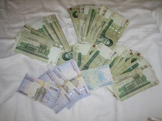 Aya-Dollar-Millionäre: zwei Nächte im Hotel kosten 7 Mio. IRR