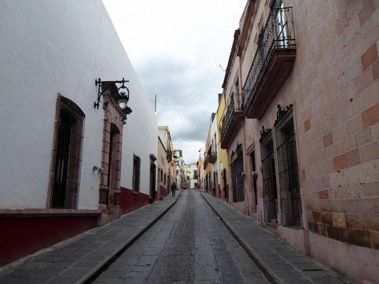 Gasse im Centro histórico