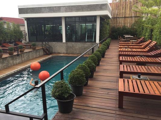 Pool und Fitnessraum have!