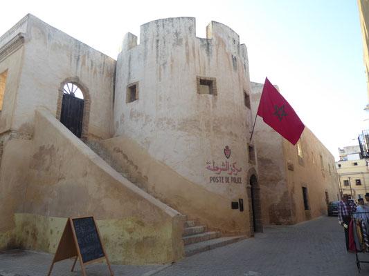 Polizeistation in der ehemaligen Festung