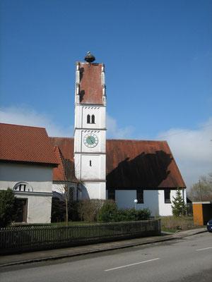 Die ersten Störche in Bayern