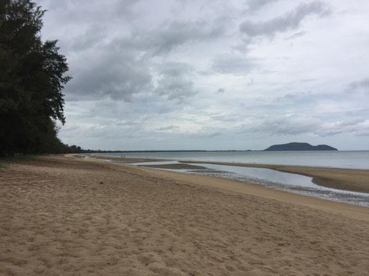Ein Strand praktisch für uns allein