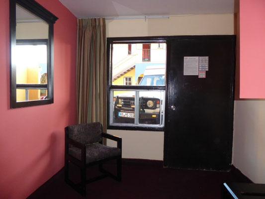 Deutlich bescheidener: Motel Agora in Ensenada