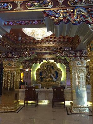 Tibetische Hotel-Rezeption in Lanzhou