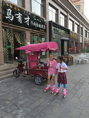 Kleine Prinzessinnen in Zhangyie