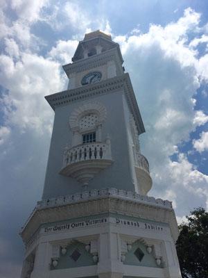 Auch in George Town gibt es einen Queen Victoria Tower