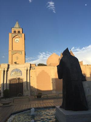 Blick auf die armenische Vank-Kathedrale
