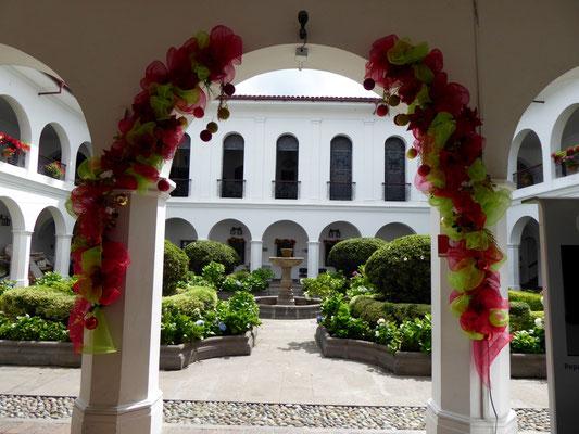 Blick in den Rathaushof