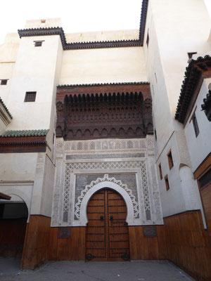 Schönes Gebäude in der Medina