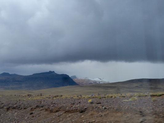 Schneebedeckter Gipfel