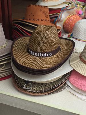 """Den """"Mariboro""""-Cowboy-Hut haben wir tausendfach gesehen - diese Art der Schreibweise war allerdings einzigartig!"""