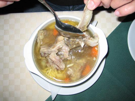 Schweinerippensuppe (schmeckt viel besser als es sich anhört)