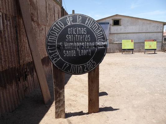 Humberstone: Ehemalige Salpeter-Produktionsstätte und heute UNESCO-Weltkulturerbe