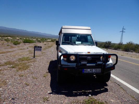Ruta 40: Nur noch 3.500km bis Ushuaia