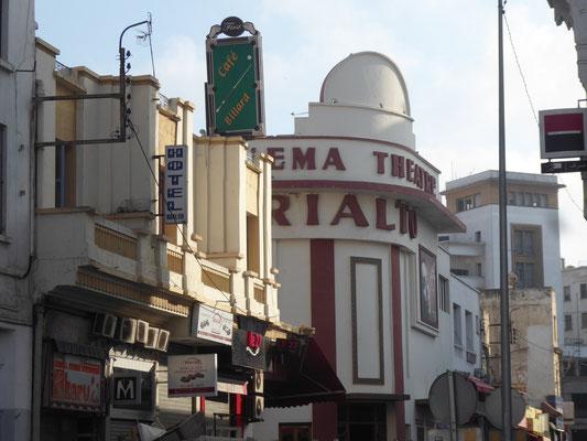 Schöner alter Kinopalast