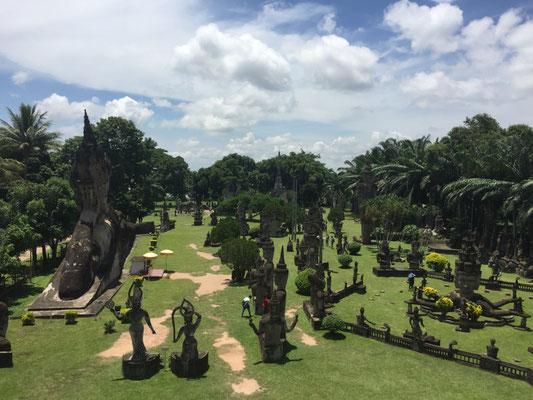 Ausflug zum Buddha-Park