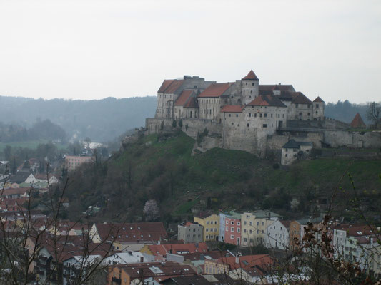 Die weltlängste Burg in Burghausen