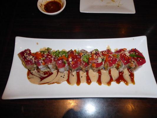 Keine Kunst, sondern Sushi auf amerikanisch