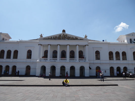 Theater in Quito