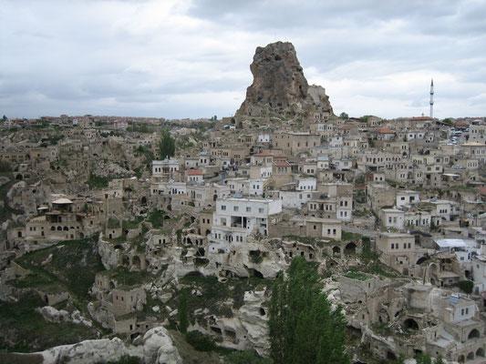 Die Felsenburg von Ortahisar