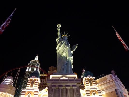 New York ist auch dabei