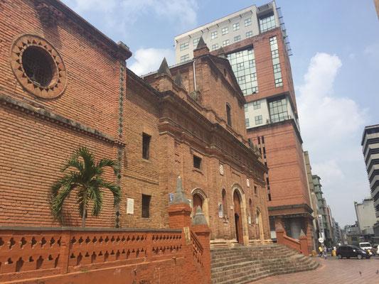 Iglesia San Francisco, bestes Beispiel maurischer Baukunst in Kolumbien