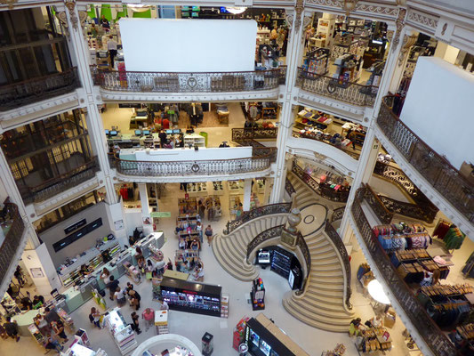Schöner Einkaufen: Diesmal von innen