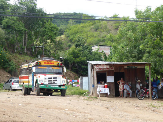 Noch ein übliches Verkehrsmittel in Nicaragua