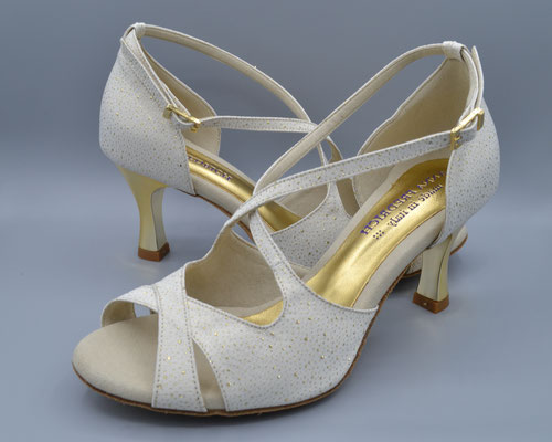 Brautschuhe Tanzschuhe Salsa Schuhe von Anna Fredrich Italian Dance Shoes