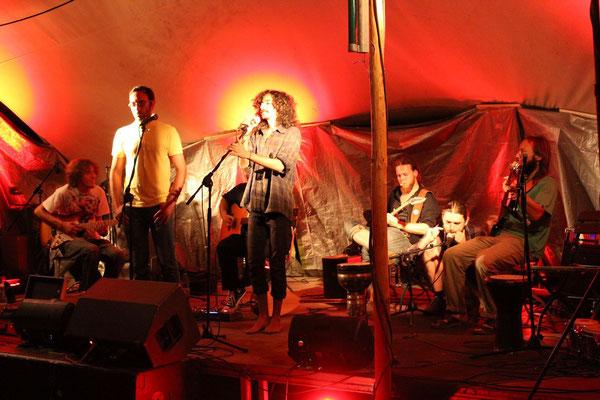 Oriental World Music Jam Session auf der Waldbühne am Peißnitzhaus in der World Music Night