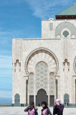 Mezquita de Casablanca, Marruecos, 2015