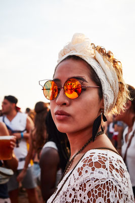 A Woman, Arenal Sound, 2016