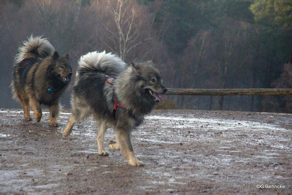 Sanny(hinten) und Nichte Eskia(vorne)