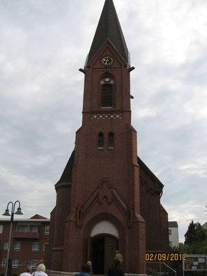 Foto von der Christuskirche in Neubeckum: M. Warkentin