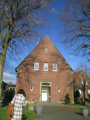 Ev. Friedenskirche in Sendenhorst, Foto: M. Warkentin