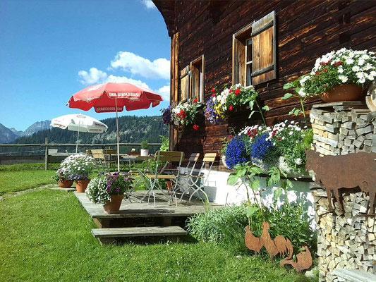 Alpe Osterberg – Hütte Kleinwalsertal – Oberstdorf