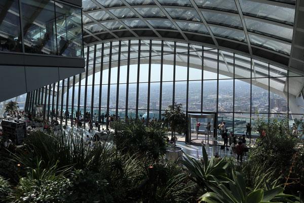 Aussicht aus einem Garten im 36. Stock. Kostenlos. Wer hätte das gedacht? :D