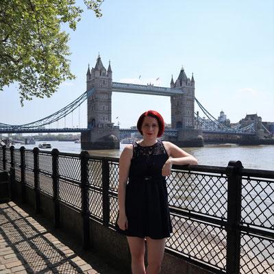 Falls wer noch einen Beweis brauchte: Ich war in London. Mein Photoshop-Game ist nämlich eher mies...