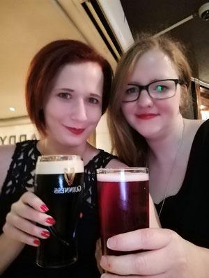 Guinness! Kirschcider! Happy Us!