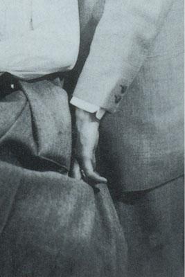 """""""Kafka war nur auf dem Papier ein Mensch, der zu einer Beziehung fähig war. Naja, eigentlich nicht einmal da."""" (S.327) - Detail (Archiv Klaus Wagenbach, Berlin)"""