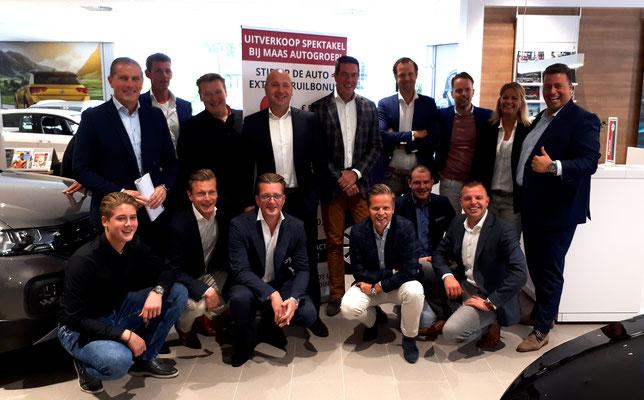 Automotive Sales Event - MAAS Autogroep Gouda - Volkswagen-Audi-SEAT-ŠKODA - september 2019 - 51 verkochte auto's in 1 weekend