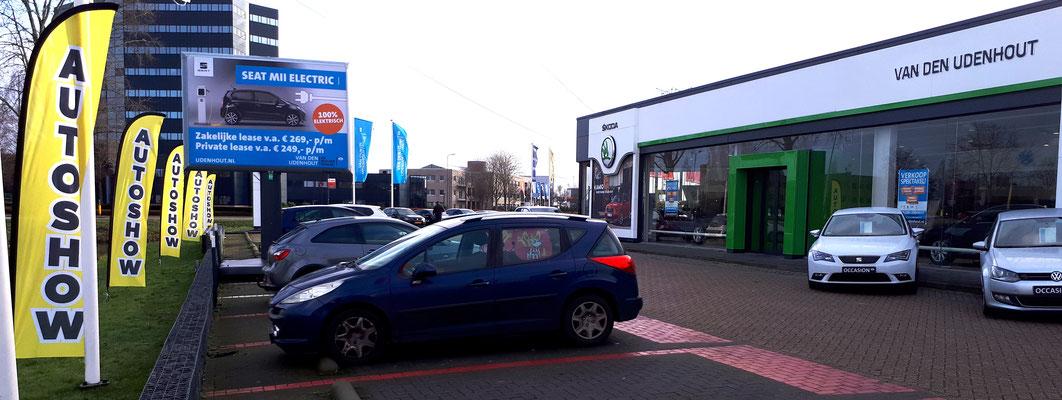 Van den Udenhout Den Bosch (Volkswagen-Audi-SEAT-ŠKODA-Volkswagen Bedrijfswagens) - 88 verkochte auto's in 1 weekend - januari 2020