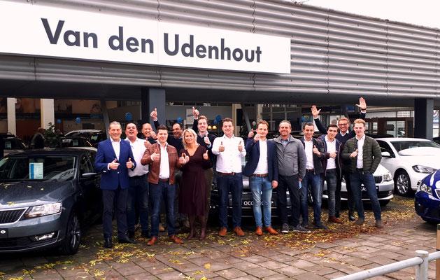 Automotive Sales Event - Van den Udenhout Son (Eindhoven) - officieel Volkswagen-Audi-SEAT-SKODA dealer - november 2018 - 64 verkochte auto's in 1 weekend