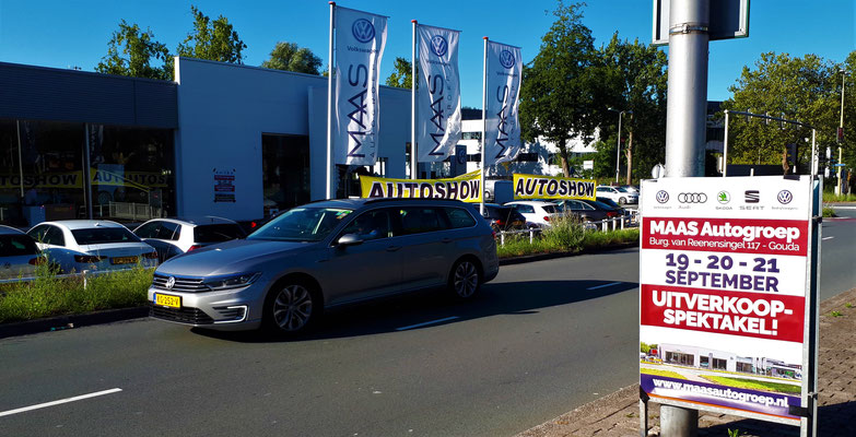 Automotive Sales Event - MAAS Autogroep Gouda - Volkswagen-Audi-SEAT-ŠKODA - september 2019 - 51 verkochte auto's in 1 weekend