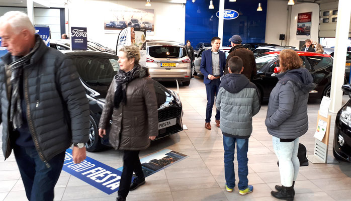 Automotive Sales Event - Autobedrijf Noordegraaf Hengelo - officieel Ford dealer - november 2017 - 76 verkochte auto's in 1 weekend