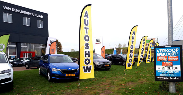 Automotive Sales Event - Van den Udenhout Eindhoven (Volkswagen-Audi-SEAT-ŠKODA) - 118 verkochte auto's in 1 weekend - november 2019