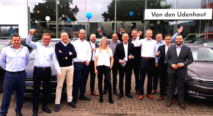 Automotive Sales Event - Van den Udenhout Oss - officieel Volkswagen-Audi-SEAT-ŠKODA dealer - juni 2019 - 44 verkochte auto's in 1 weekend