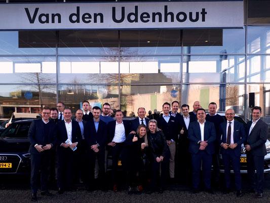 Automotive Sales Event - Van den Udenhout Den Bosch - officieel Volkswagen-Audi-SEAT-SKODA dealer - januari 2019 - 76 verkochte auto's in 1 weekend
