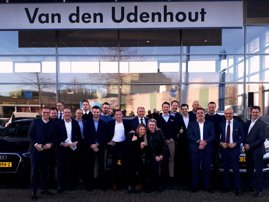 Automotive Sales Event - Van den Udenhout Den Bosch - officieel Volkswagen-Audi-SEAT-ŠKODA dealer - januari 2019 - 76 verkochte auto's in 1 weekend