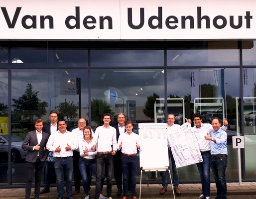 Automotive Sales Event - Van den Udenhout Helmond - officieel Volkswagen-Audi-SEAT-ŠKODA dealer - juni 2018 - 35 verkochte auto's in 1 weekend - juni 2018